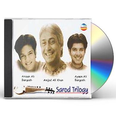 Ustad Amjad Ali Khan SAROD TRILOGY: RAGA BAGESHWARI CD