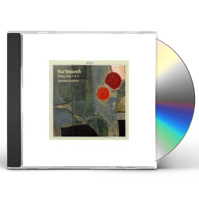 Hindemith STRING TRIOS 1 & 2 CD
