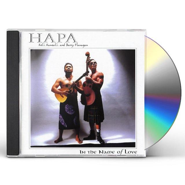 Hapa IN THE NAME OF LOVE CD