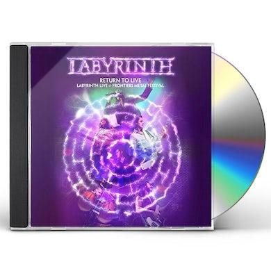 Labyrinth RETURN TO LIVE CD