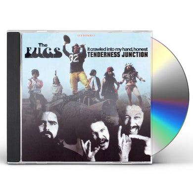 Fugs TENDERNESS JUNCTION / IT CRAWLED INTO MY HAND CD