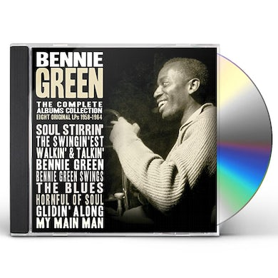 Bennie Green COMPLETE ALBUMS COLLECTION 1958-1964 CD
