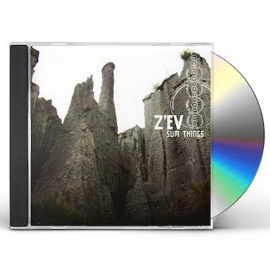 Zev SUM THINGS CD
