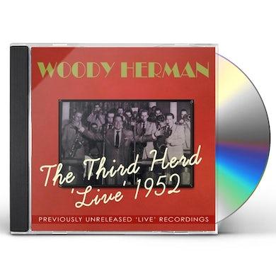 Woody Herman THIRD HERD LIVE 1952 CD