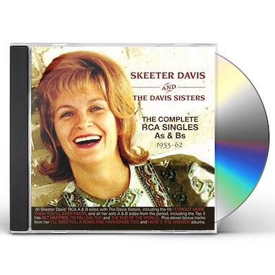 Skeeter Davis COMPLETE RCA SINGLES AS & BS 1953-62 CD