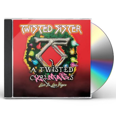 Twisted Sister TWISTED XMAS: LIVE IN LAS VEGAS CD