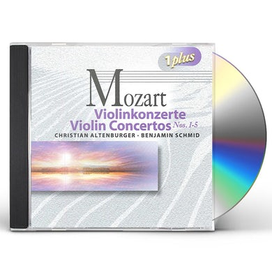 MOZART / HANDEL & HAYDN SOCIETY / MANDEL VIOLIN CONCERTOS 1 CD
