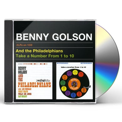 Benny Golson AND PHILADELPHIANS / TAKE A NUMBER FROM 1 TO 10 CD