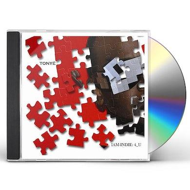 Tonya IAM-INDIE: 4_U CD