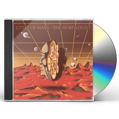 Cities Of Mars HOROLOGIST CD