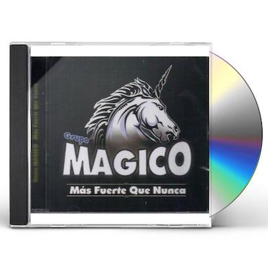 Grupo Magico MAS FUERTE QUE NUNCA CD