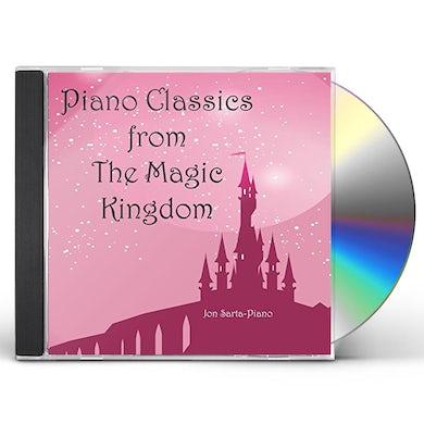 Jon Sarta PIANO CLASSICS FROM THE MAGIC KINGDOM CD