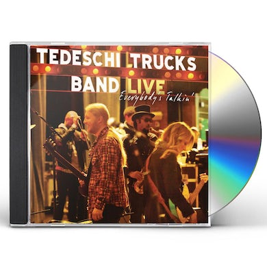 Tedeschi Trucks Band EVERYBODY'S TALKING: LIVE CD
