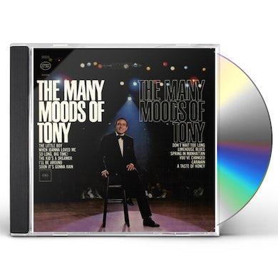 Tony Bennett MANY MOODS OF TONY CD