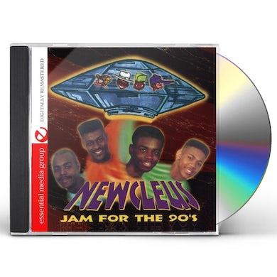Newcleus JAM FOR THE 90'S CD