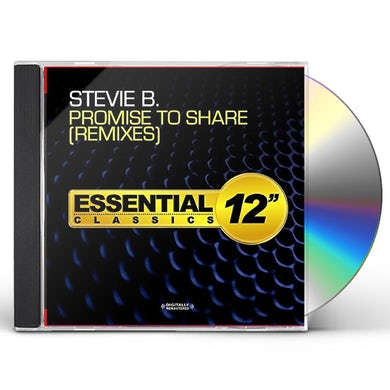 Stevie B. PROMISE TO SHARE - REMIXES CD