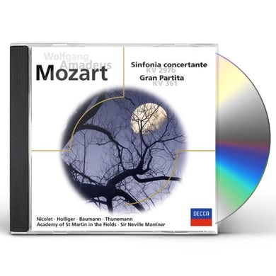 W.A. Mozart SINFONIA CONCERTANTE CD