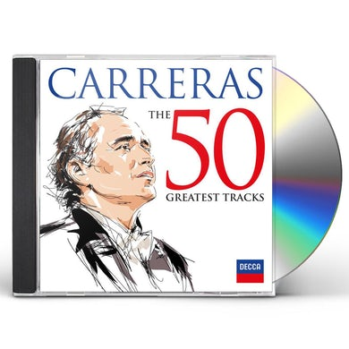 Jose Carreras: 50 Greatest Tracks (2 CD) CD