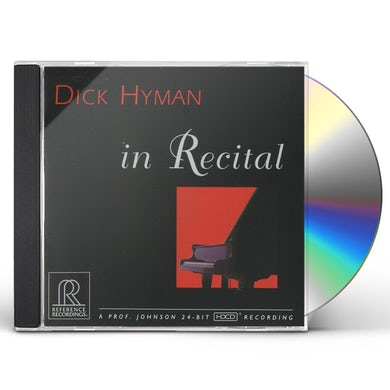 Dick Hyman IN RECITAL AT THE MAESTRO FOUNDATION CD