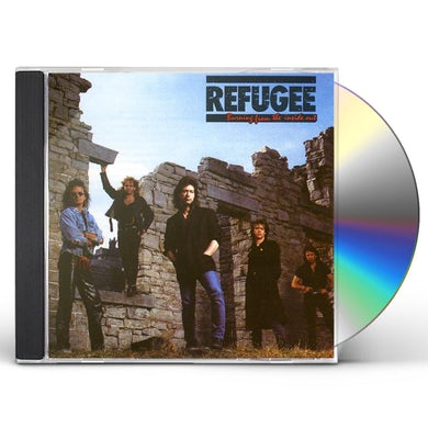 Refugee BURNING FROM THE INSIDE OUT CD