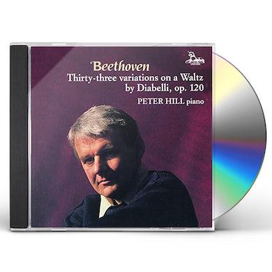 Hill DIABELLI VARIATIONS 120 CD