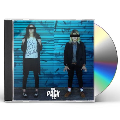 The Pack a.d. DO NOT ENGAGE CD