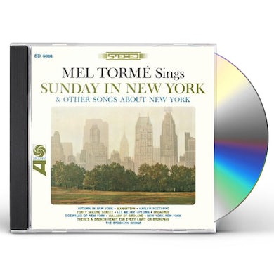 Mel Torme SUNDAY IN NEW YORK & OTHER SONGS ABOUT NEW YORK CD