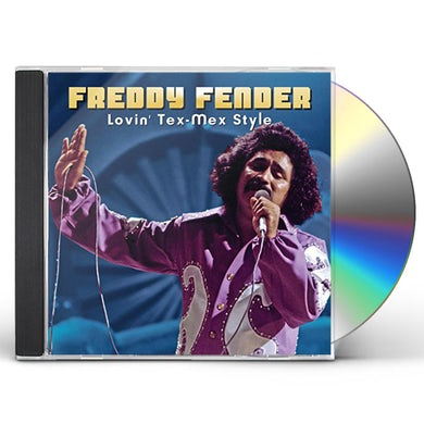Freddy Fender LOVIN' TEX-MEX STYLE CD