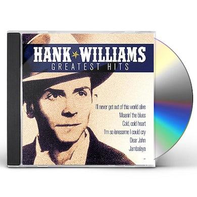 Hank Williams GREATEST HITS CD