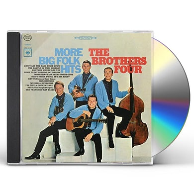Brothers Four SONG BOOK / BIG FOLK HITS CD