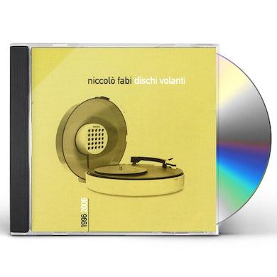 Niccolo Fabi DISCHI VOLANTI 1996 - 2006 CD