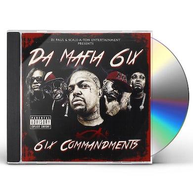 Da Mafia 6ix 6IX COMMANDMENTS CD