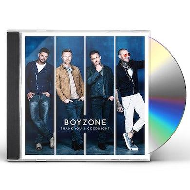 Boyzone THANK YOU & GOODNIGHT CD