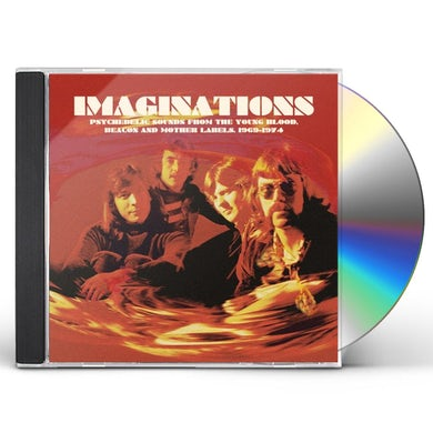 Imaginations: Psychedelic Sounds From The / Var CD