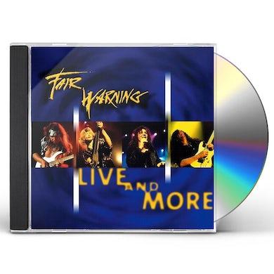 Fair Warning LIVE & MORE CD