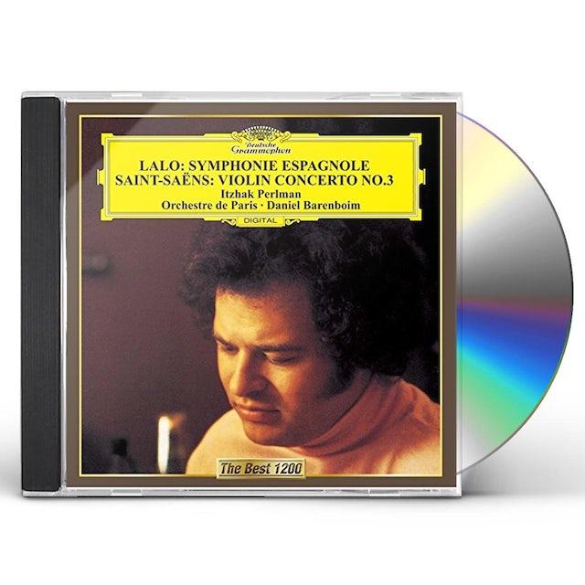 Itzhak Perlman LALO: SYMPHONIE ESPAGNOLE CD