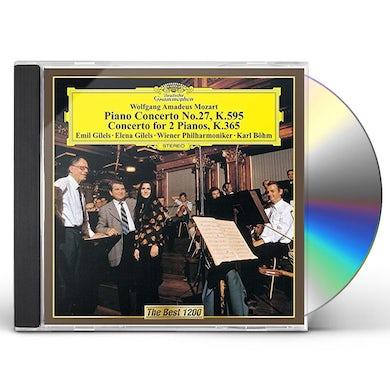 Emil Gilels MOZART: PIANO CONCERTOS NO. 27 CD