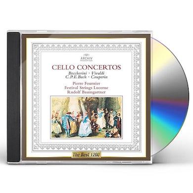 Pierre Fournier BAROQUE CELLO CONCERTOS CD