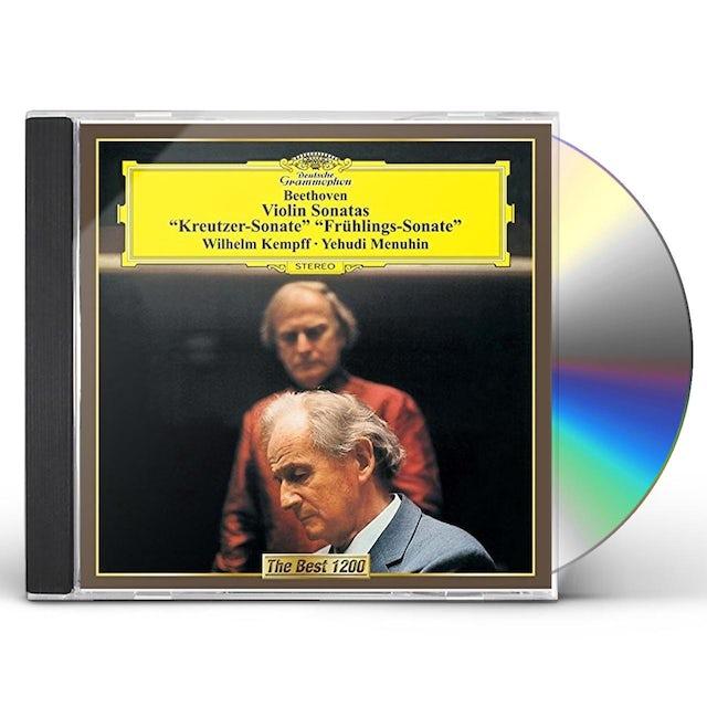 Yehudi Menuhin BEETHOVEN: VIOLIN SONATAS NO. 5 CD