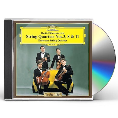 Emerson String Quartet SHOSTAKOVICH: STRING QUARTETS NO. 3. CD