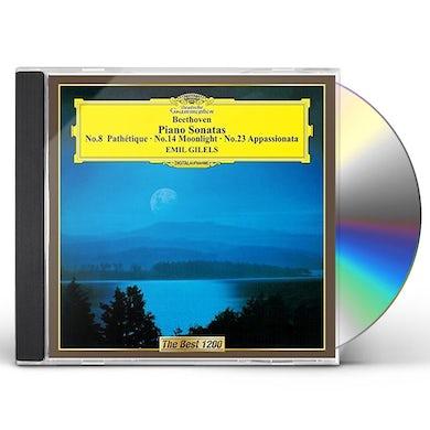 Emil Gilels BEETHOVEN: PIANO SONATAS PATHETIQ CD