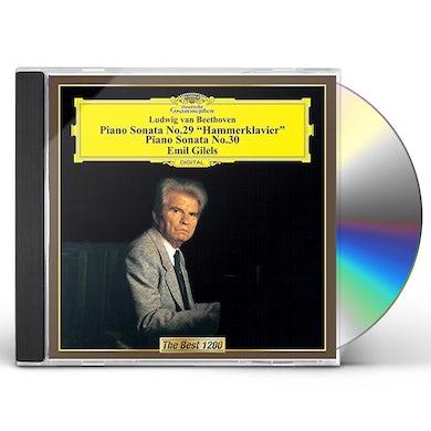 Emil Gilels BEETHOVEN: PIANO SONATAS NO. 29 CD
