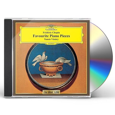 Tamas Vasary CHOPIN: FAVORITE PIANO WORKS CD