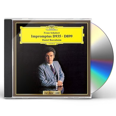 Daniel Barenboim SCHUBERT: IMPROMPTUS CD