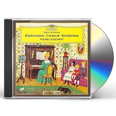 Wilhelm Kempff SCHUMANN: CARNIVAL. KINDERSZENEN. KR CD