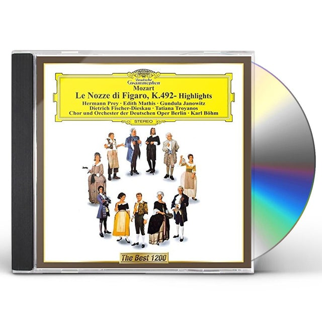 Karl Bohm MOZART: 'LE NOZZE DI FIGARO' HIGH CD
