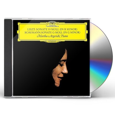 Martha Argerich LISZT: PIANO SONATA IN B MINOR / SCHUM CD