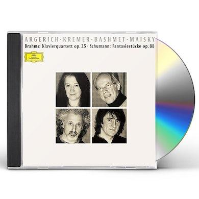 Martha Argerich BRAHMS: PIANO QUARTET NO. 1 CD