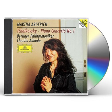 Martha Argerich TCHAIKOVSKY: PIANO CONCERTO NO.1/R CD