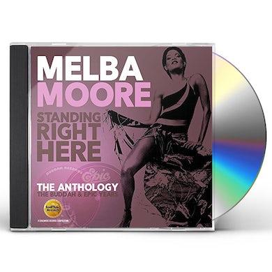 Melba Moore STANDING RIGHT HERE: ANTHOLOGY - BUDDAH & EPIC CD